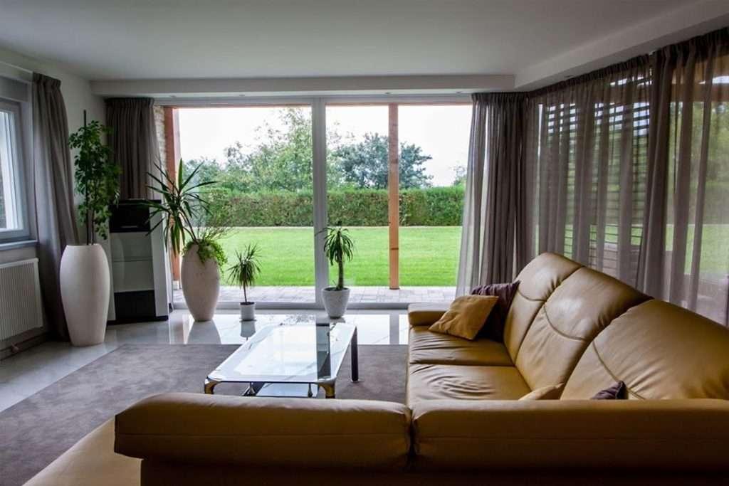 Bungalov - obývací pokoj