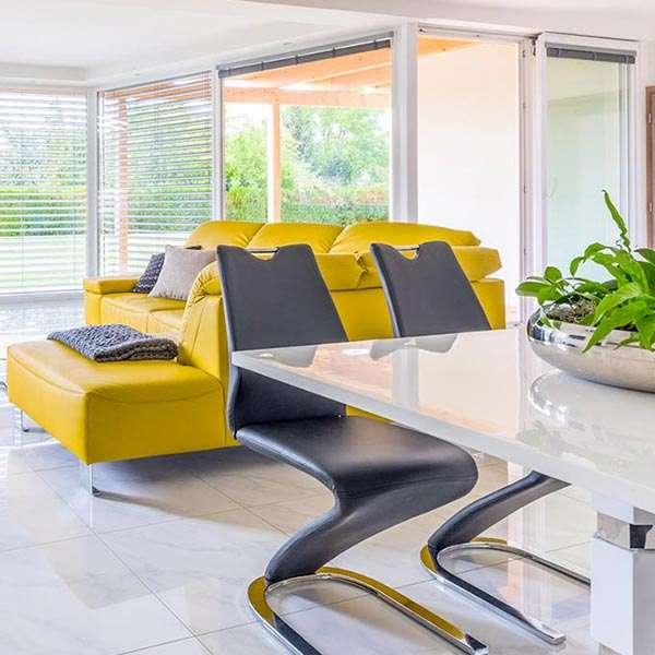 Obývací pokoj bungalovu