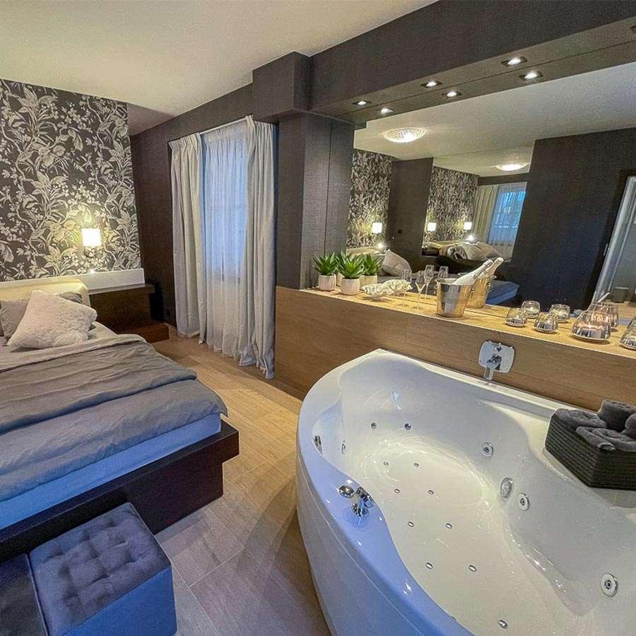 pokoj s vířivkou